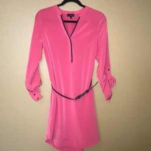 The Limited pink shirt dress